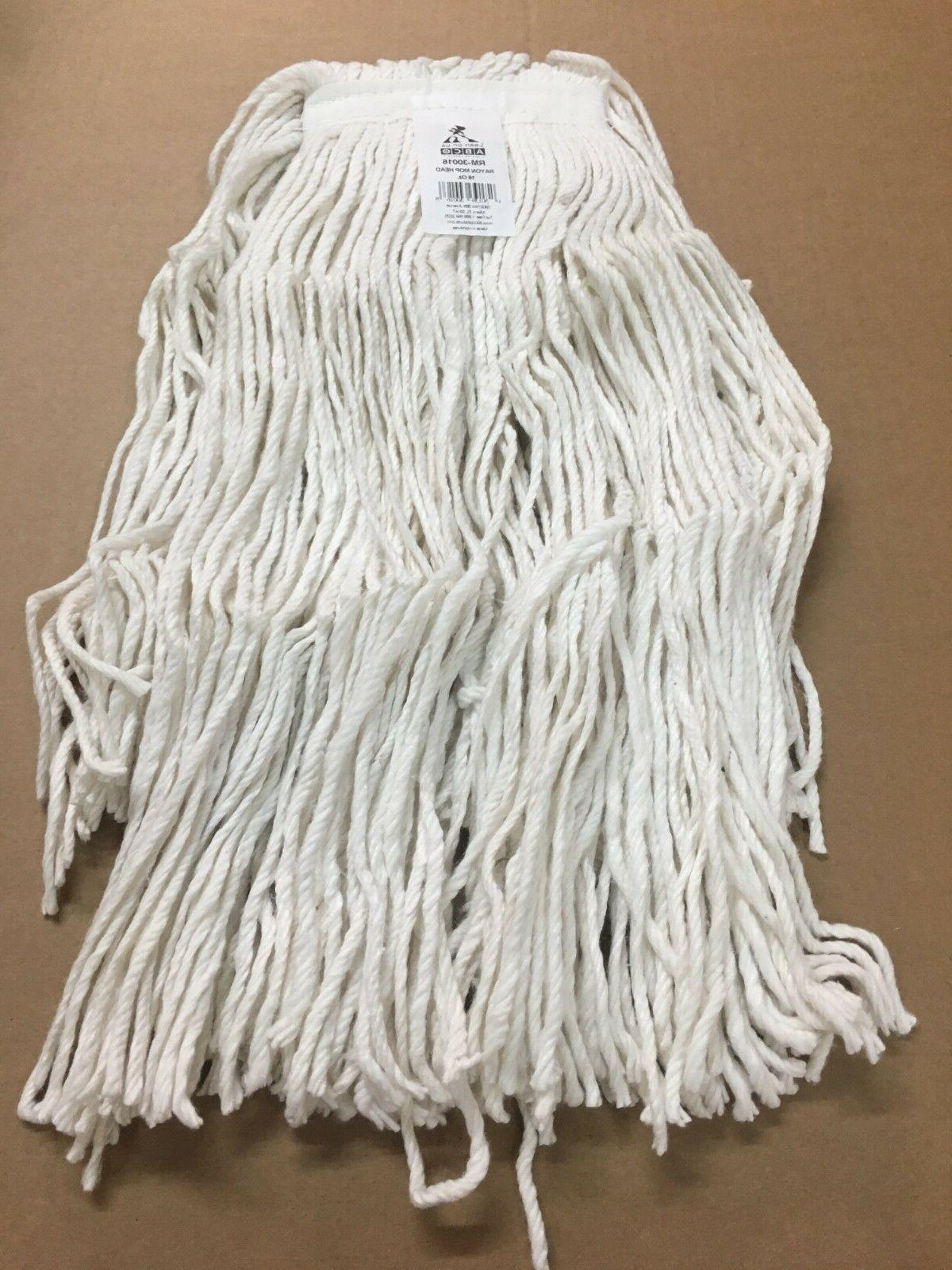 16 oz rayon mop heads brand new