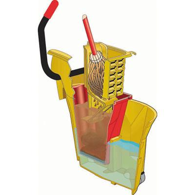 Rubbermaid 18 Red Plastic Dirty For qt Mop