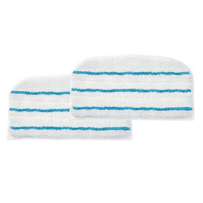 2x microfibre cloth cleaning pad for steam
