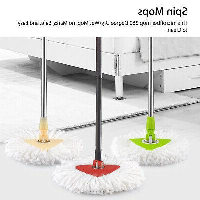 360°Replacement Easy Mopping Refill Mop for