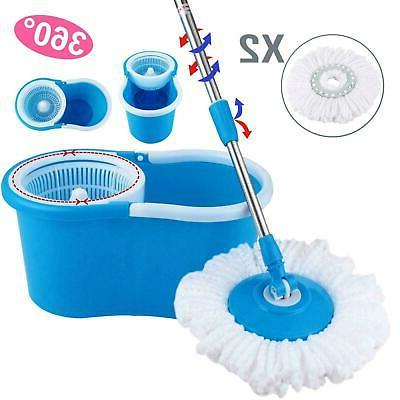 360rotating head easy magic floor mop bucket