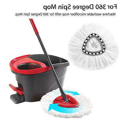 4/2/1X Heads Cleaning Mopping Mop Refill