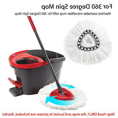 Replacement Heads Cleaning Mopping Wring Refill for O-Cedar Mop