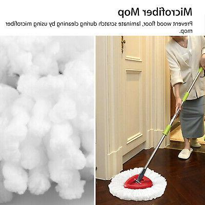 1/2/4X Cleaning Mopping Mop Refill