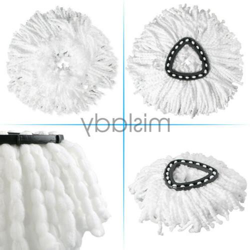 4 X Replacement Mop Head Wring Spin