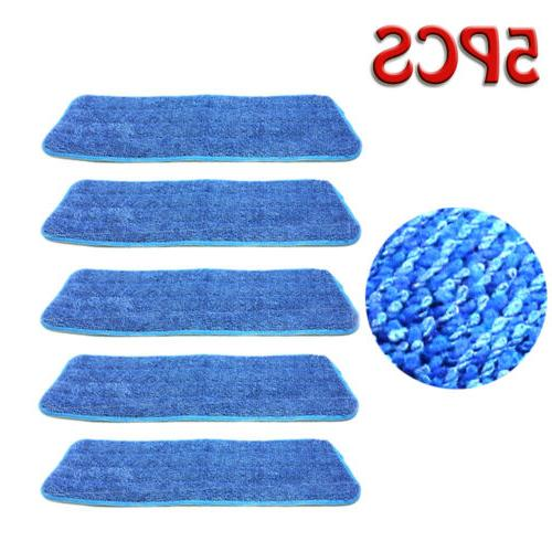 "5Pcs Pads Mops 15"" Flat Base New"