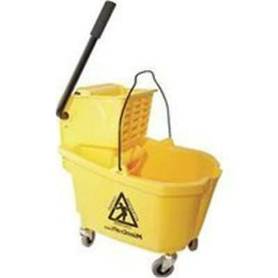MintCraft Pro 9130 Mop Bucket Pro with Ringer, Yellow