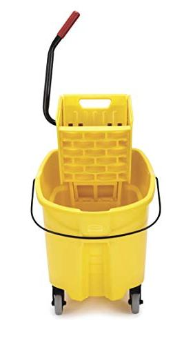 Rubbermaid Commercial Products Mopping Side-Press Wringer Yellow