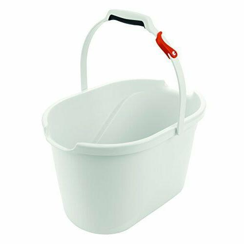 angled measuring mop bucket