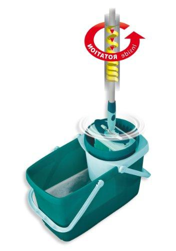 Leifheit Clean Twist Mop with and Round Mop Head