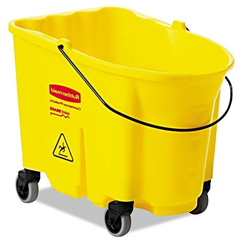 Rubbermaid 7570-88 YEL with Caster Qt
