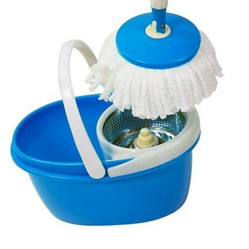 Household Cleaning Mop Wring Bucket 360 Degree Rotating Adjustable
