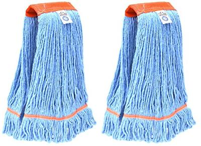 industrial commercial usa looped end wet mop