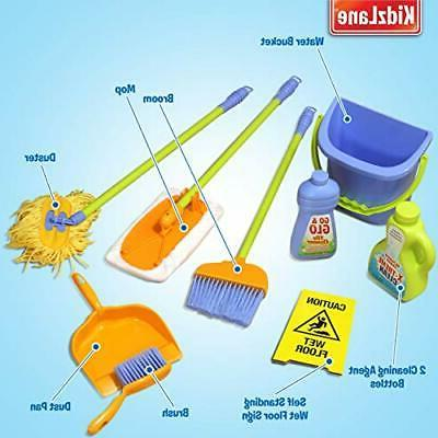 Kidzlane for Toddlers Age Includes 6 Cleaning Toys