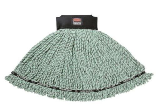 maximizer green microfiber tube mop head