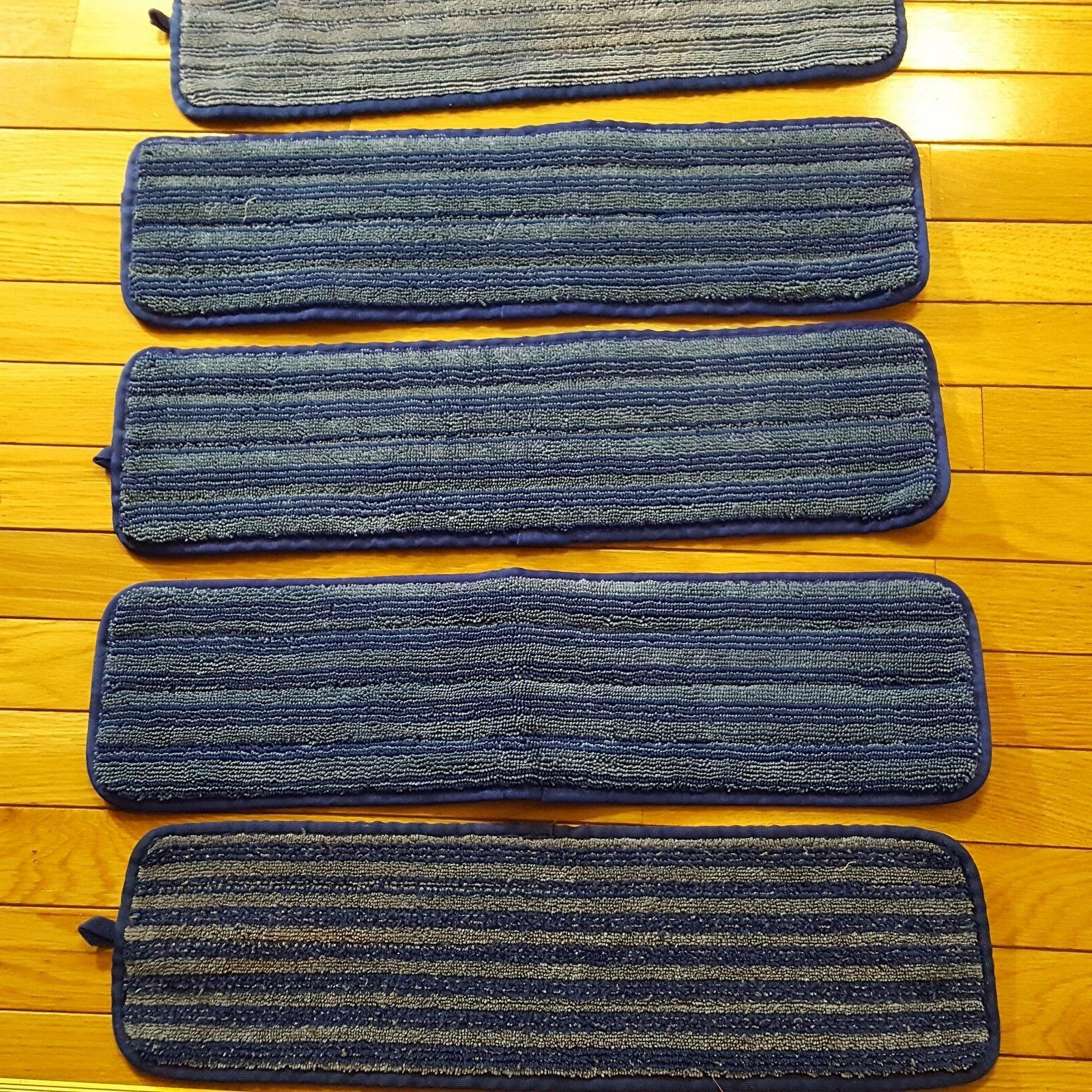 Lot 9 Commercial Products Microfiber Room Mop Pad Inch