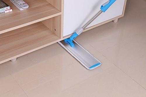 YOUSHANGJIA Microfiber Mop | | | Aluminum Stainless Steel Locking Wet and Dry Mops Clothes | Floor mop/Dust mop