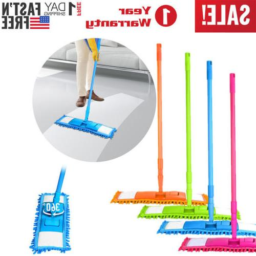 360 rotating microfiber mop hardwood floor dust
