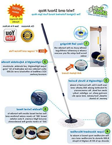 Twist Award-Winning Original Hand Spin Mop