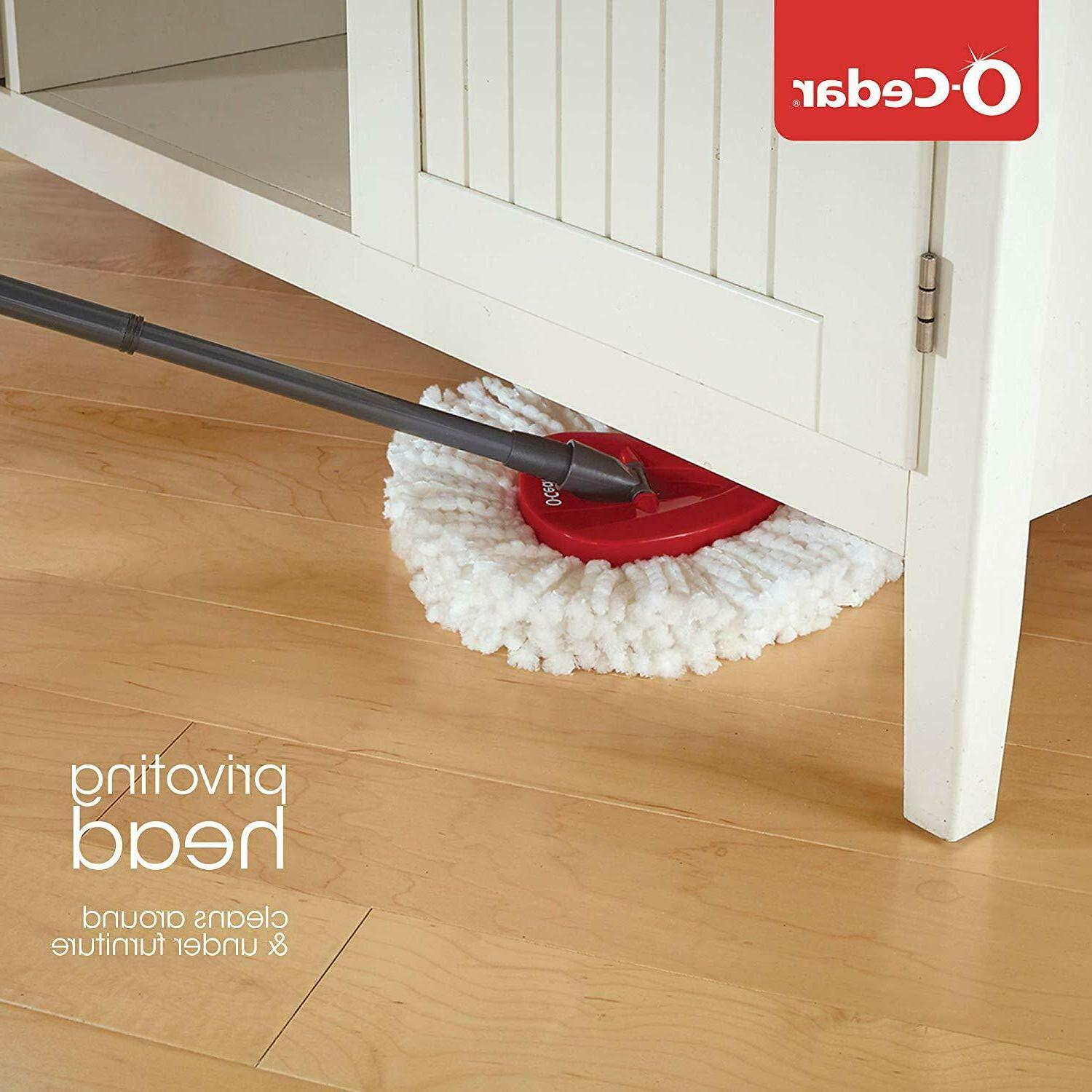 O-Cedar Easy Wring Mop and Bucket Cleaning for Floors