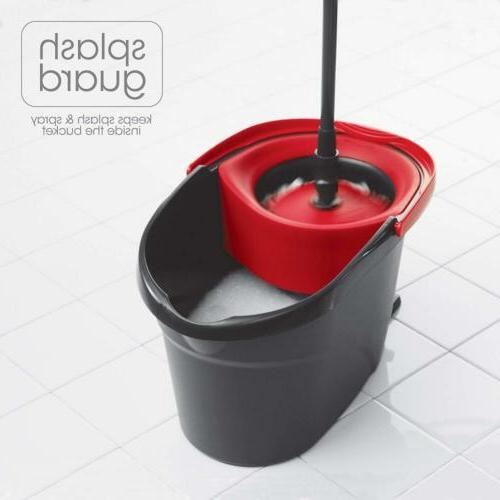 O-Cedar Spin Mop and Bucket Cleaning