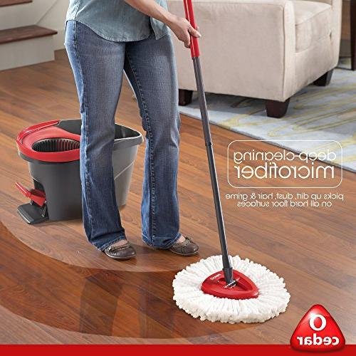 O- Spin Mop & Bucket System, Easier