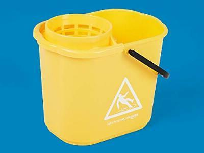AmazonCommercial Pail and Mop Strainer Combo Yellow -