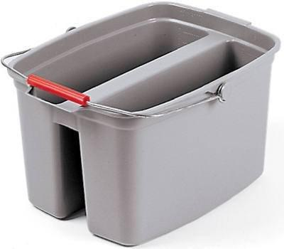 Rubbermaid Pail Double Qt Gray