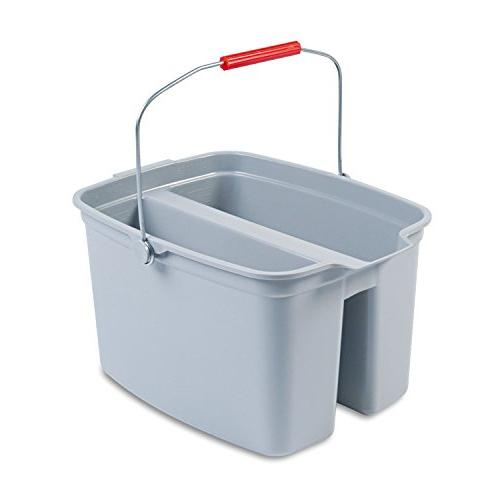 pail double 19 qt gray