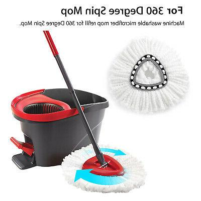 1/2/4X Cleaning Wring Mop
