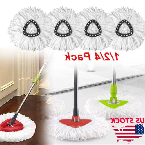 replacement heads easy cleaning mopping wring spin