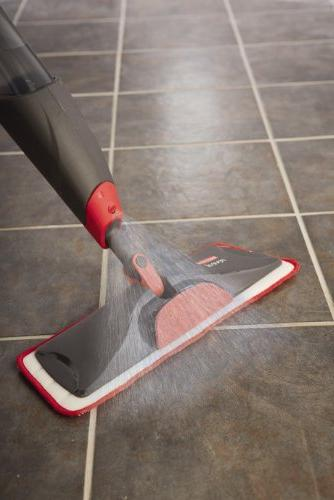 Rubbermaid Mop Floor Cleaning 1 Mop, Microfiber 3 Refillable Bottles