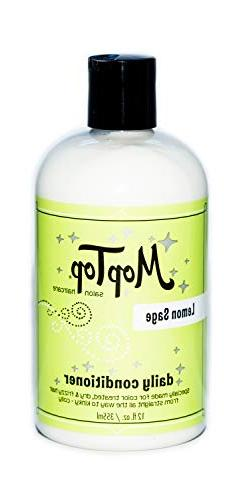 12oz MopTop Salon Daily Conditioner for Dry, Thick, Wavy, Cu