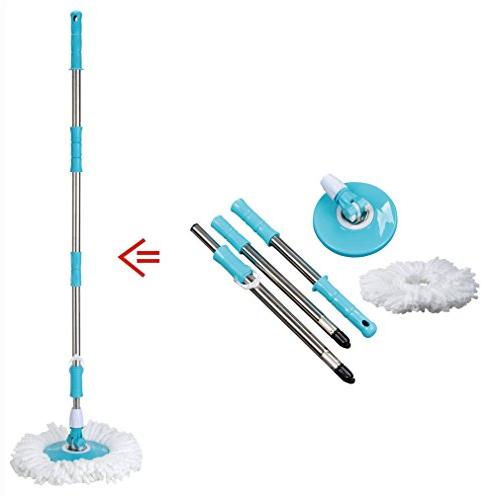 spin easy mop handle pole
