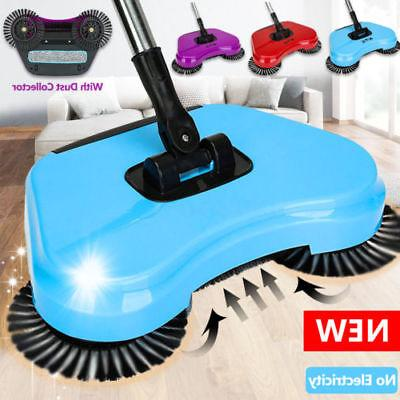 Household Hand Push Sweeping 360 Spin Floor Dust Cleaning Tool