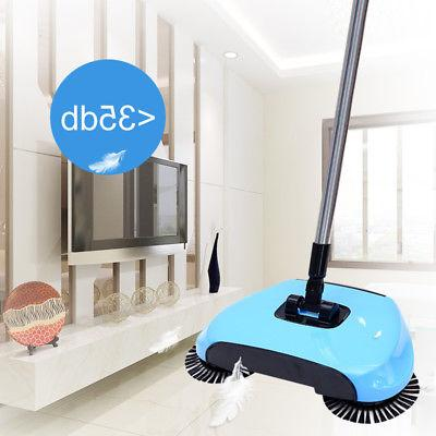 Household Push Sweeping 360 Spin Broom Dust Tool