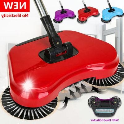 household hand push sweeping 360 spin broom