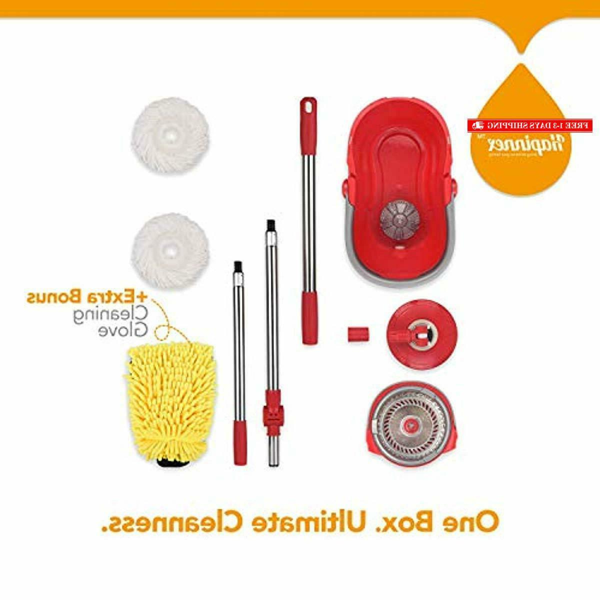 HAPINNEX Bucket Set for Home Kitchen Cleaning - Wet/Dry
