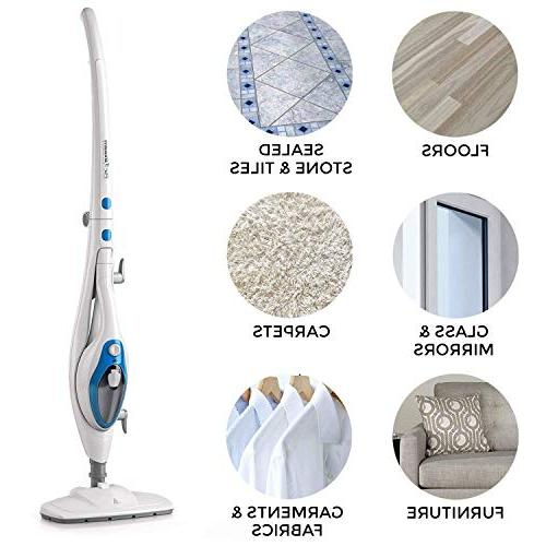 Steam Cleaner ThermaPro 10-in-1 Convenient Detachable Handheld Unit, Laminate/Hardwood/Tiles/Carpet - - - by
