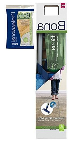 Bona Stone, Tile & Laminate Cleaner Spray Mop Premium BONUS