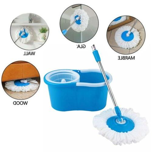 Upgraded Mop & Bucket household Floor Cleaning System