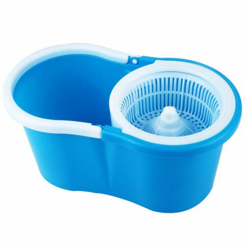Upgraded Deluxe 360 Mop Bucket household System