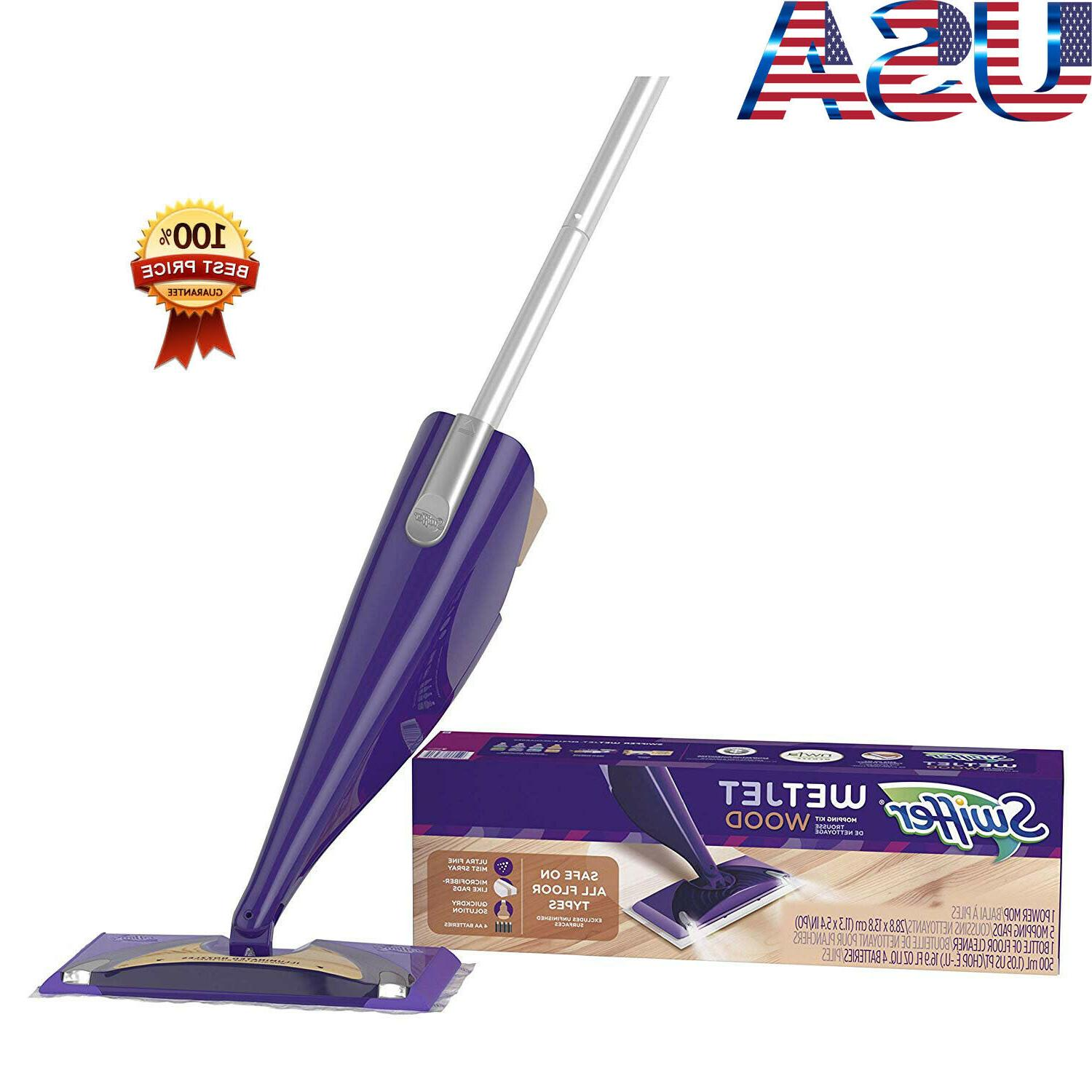 Swiffer Wetjet Wood Floor Mopping And Cleaning Starter