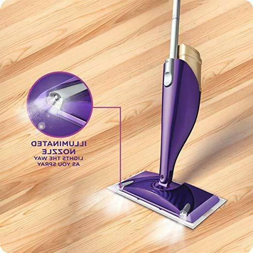 Swiffer WetJet Floor Mopping And Cleaning Kit, Illuminated