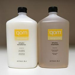 MOP Lemongrass Volume Shampoo and Conditioner 1 L / 33.8 Fl