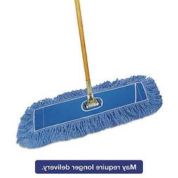 Boardwalk Looped-End Dust Mop Kit, 24 x 5, 60 Metal/Wood Han