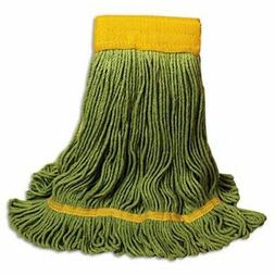 Boardwalk Looped-End Mop Head, Extra Large Size, Green, 12 M