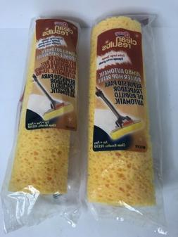 Lot 2- Quickie Jumbo Automatic Roller Mop Refill Microban Sp