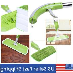 Microfiber Cleaning Mop Sweeper Pad with Spray for Floor Hom