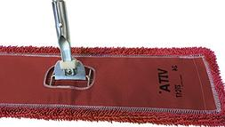 "48"" Microfiber Dust Mop Kit:  Highest Quality Red Microfiber"